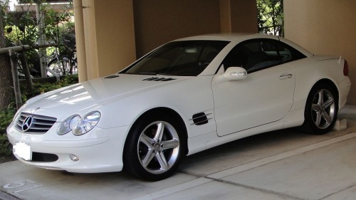 メルセデス・ベンツ SL500 2001年