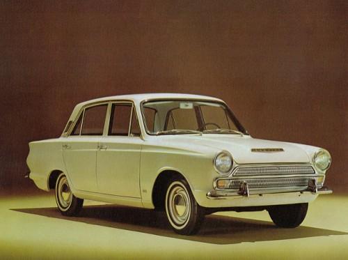フォード・コンサル・コルチナ 外装1 1962年型