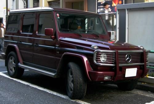 メルセデス・ベンツ G500L W463型