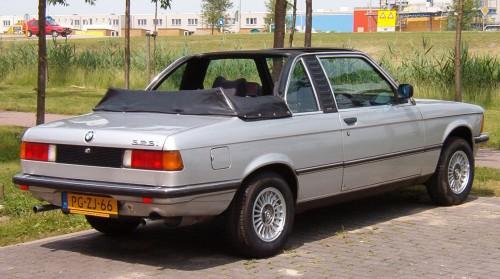 BMW 3シリーズ カブリオレ 1981年型