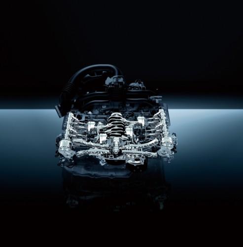 スバル エクシーガクロスオーバー7 2015年式 エンジン