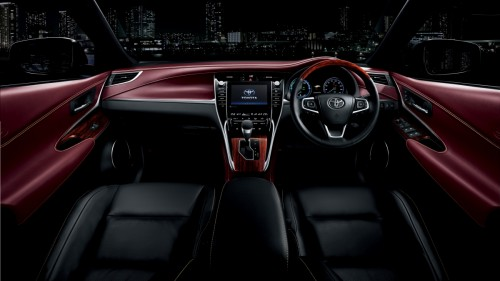 トヨタ ハリアー PREMIUM Advanced Package ハイブリッド 2013年 内装