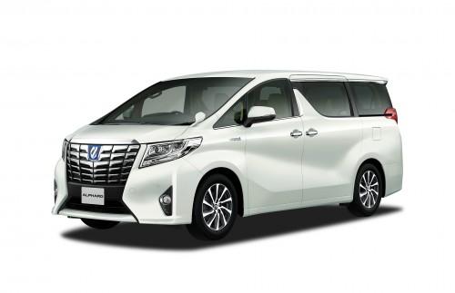 トヨタ アルファード G Fパッケージ ハイブリッド 2015年