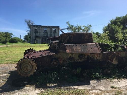 サイパン島 戦跡