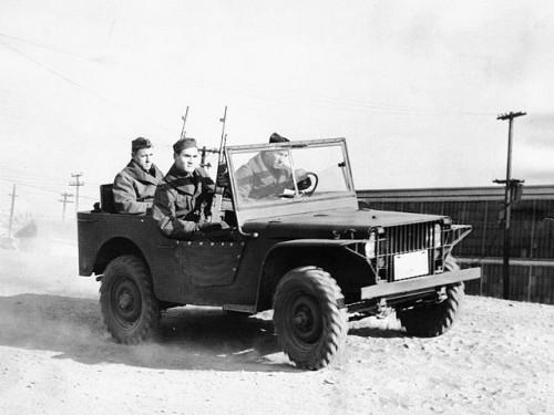 テスト中のフォードピグミー 1940年