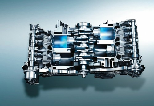 FB20型水平対向4気筒DOHC 2.0リッター直噴