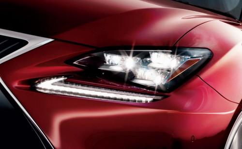 レクサス RC 三眼フルLEDヘッドランプ&LEDフロントターンシグナルランプ 2014年