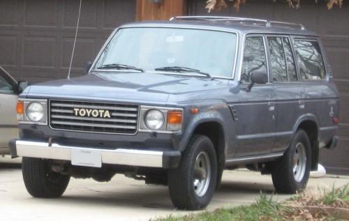 トヨタ ランドクルーザー FJ60LG 1981-1987