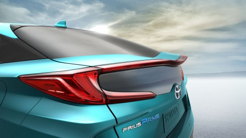 トヨタ プリウスPHV 新型 2016年 リヤ