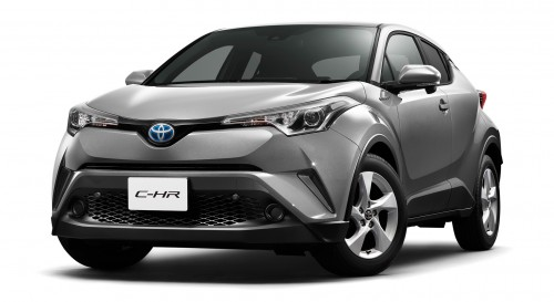 トヨタ C-HR 新型 2016年