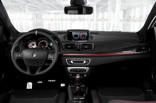 ルノー メガーヌ RS 内装 2013年