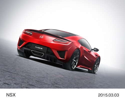 2015年 ジュネーブモーターショー ホンダ NSX