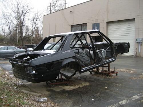 BMW ロールケージ