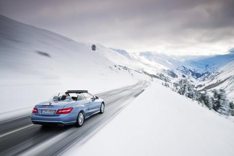 オープンカー_冬