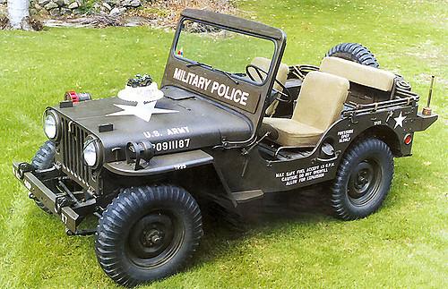 1953 Willis M38 1952年-