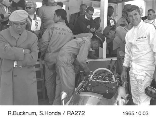 ホンダ 本田宗一郎 ロニー・バックナム 1965年