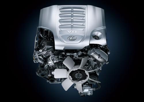 レクサス LX570 V8 5.7Lエンジン 3UR-FE