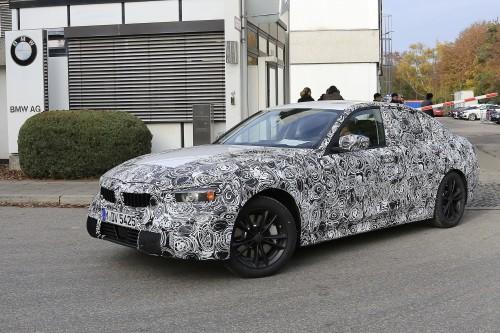 BMW 3シリーズ 新型 スパイショット 2016年