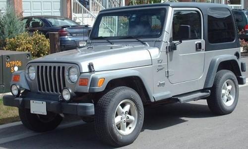 2代目 ジープ ラングラーTJ 1996年-2006年型
