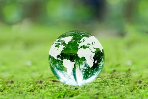 エコ 地球儀