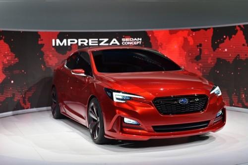 スバル インプレッサ Sedan Concept 2015年