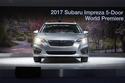 スバル インプレッサ 5-door 2016年
