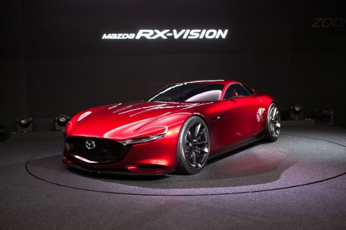 マツダ RX-VISION コンセプトモデル