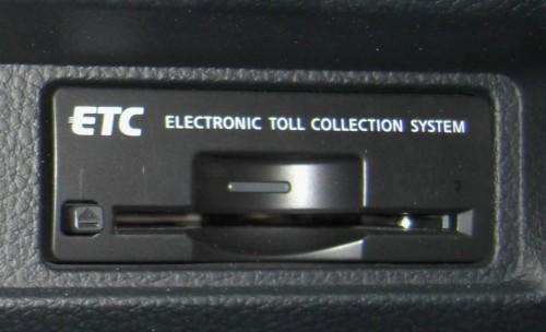 ETC カード差込口