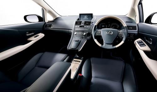 レクサス HS250h 特別仕様車 Harmonious Leather lnterior II 2014年 内装