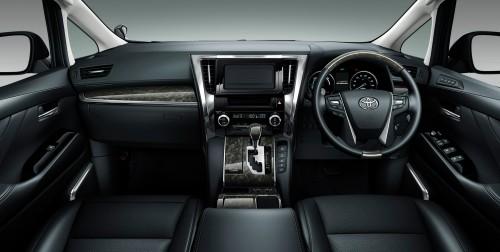 トヨタ ヴェルファイア ZR Gエディション ハイブリッド 2015年 内装