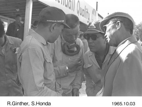 ホンダ 本田宗一郎 リッチー・ギンサー 1965年