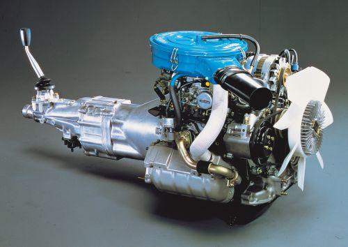 マツダ 初代RX-7 ロータリーエンジン