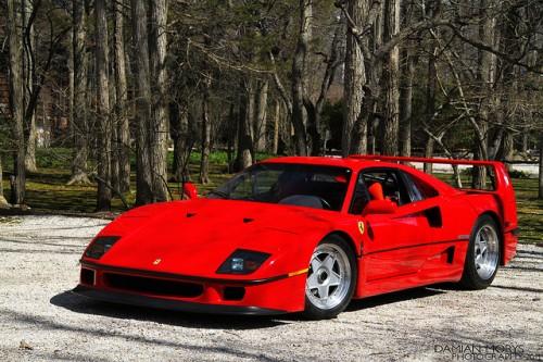 フェラーリ f40 フロント