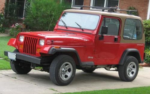 初代 ジープ ラングラー YJ 1987年-1996年型 CJ後継車