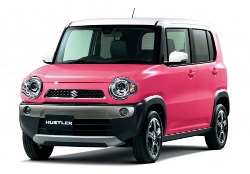 スズキ ハスラー 2013年型 X ピンク
