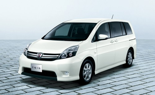 トヨタ アイシス 特別仕様車 プラタナV-SELECTION Blanc 2013年