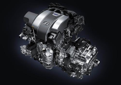レクサス RX450h エンジン