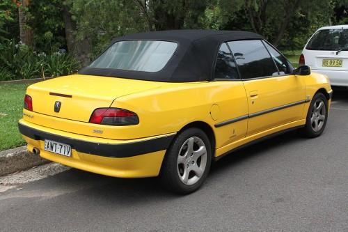 プジョー 306カブリオレ 1999年