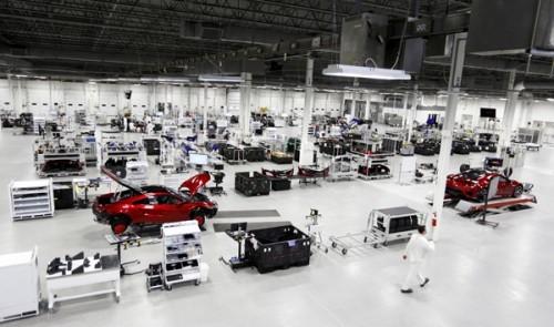 ホンダ NSX 工場