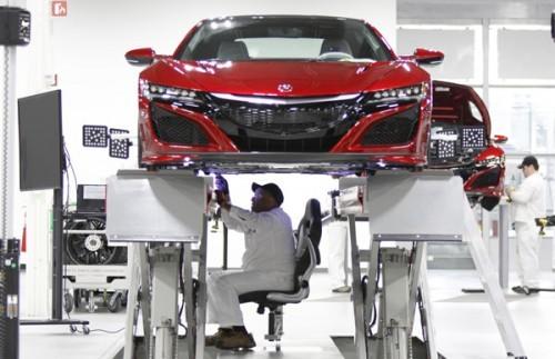 ホンダ NSX ホイール アライメント 調整