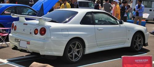 ワイルドスピードの登場車種その10:日産 スカイライン GT-R R34 1999年