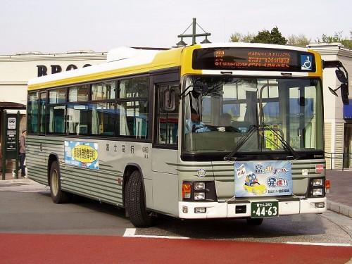 路線バス 2ナンバー 富士山ナンバー