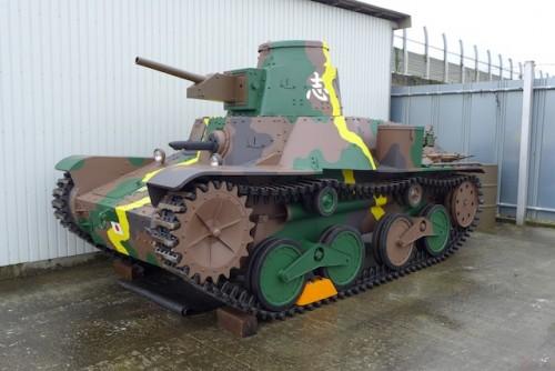 九五式軽戦車のプロップ