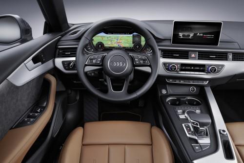 アウディ A5 スポーツバック 新型 内装