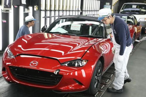 車の製造 検査工程 マツダ