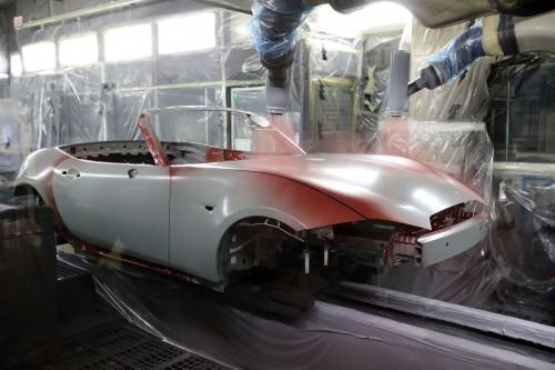 車の製造 塗装工程 マツダ