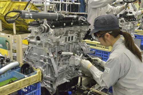 車の製造 エンジン製造工程 マツダ