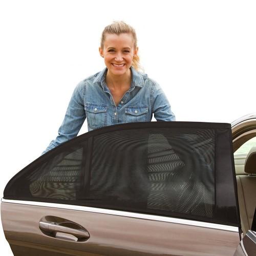 夏の車中泊の暑さ対策グッズ:日よけ・虫よけネット