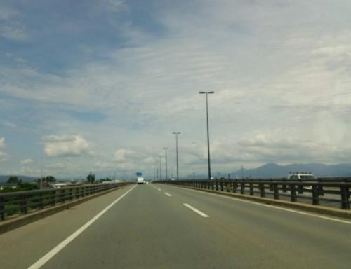 橋梁用防護策 高速道路