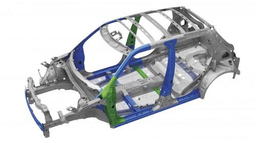 スズキ スイフト 新型 2017年 ボディ超張力鋼板使用範囲